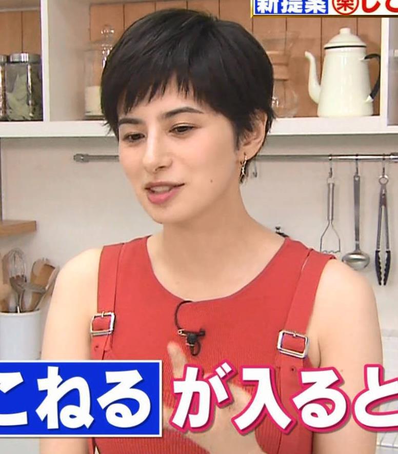 ホラン千秋 タンクトップみたいな服でおっぱいがエロいキャプ・エロ画像5