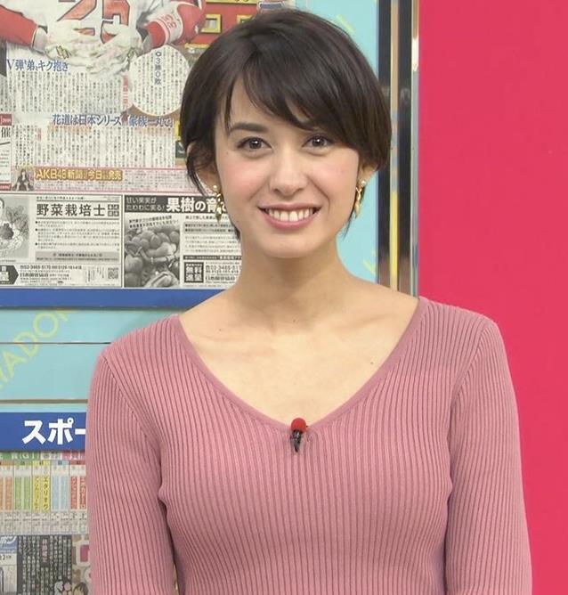 堀口ミイナアナ セクシーなニットおっぱいキャプ・エロ画像11