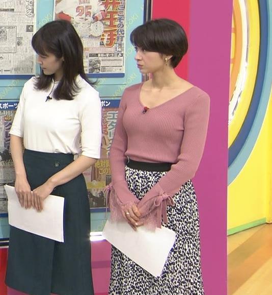 堀口ミイナアナ セクシーなニットおっぱいキャプ・エロ画像10