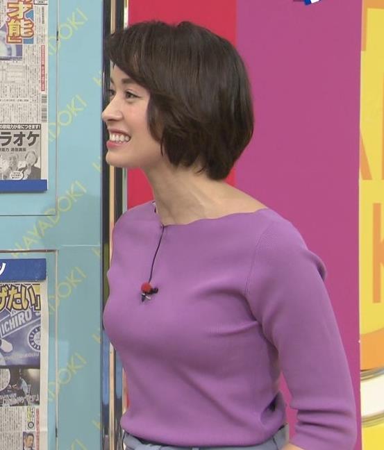 堀口ミイナ いつもニットおっぱいがエロいキャプ・エロ画像2