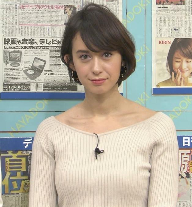 堀口ミイナ 形がいいニットおっぱい♡キャプ・エロ画像3