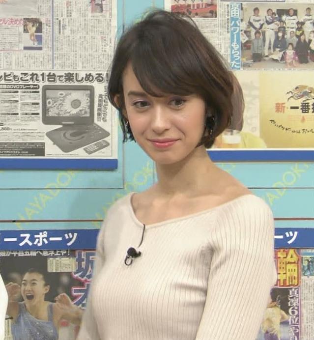 堀口ミイナ 形がいいニットおっぱい♡キャプ・エロ画像4