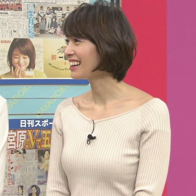 堀口ミイナ 形がいいニットおっぱい♡キャプ・エロ画像5