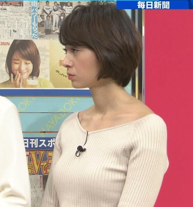 堀口ミイナ 形がいいニットおっぱい♡キャプ・エロ画像6