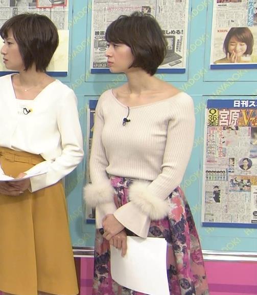 堀口ミイナ 形がいいニットおっぱい♡キャプ・エロ画像7