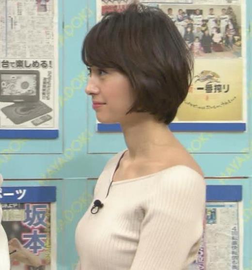 堀口ミイナ 形がいいニットおっぱい♡キャプ画像(エロ・アイコラ画像)