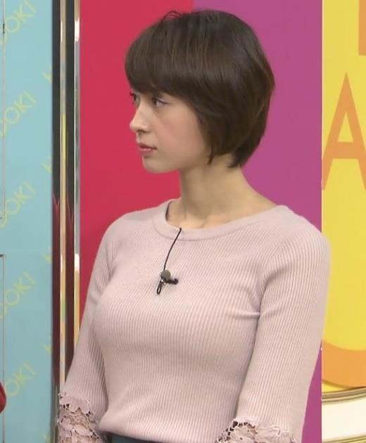 堀口ミイナ 巨乳×ピチピチのニットキャプ画像(エロ・アイコラ画像)