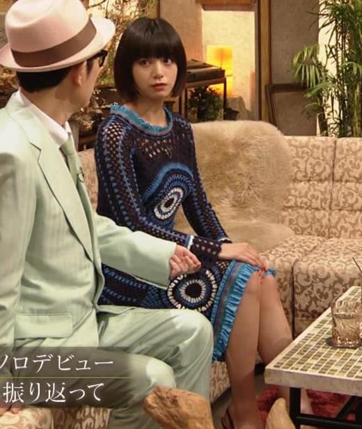 池田エライザ NHKでも体のラインがでるエロい衣装キャプ画像(エロ・アイコラ画像)
