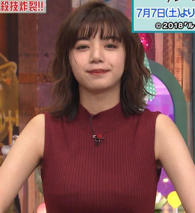 池田エライザ 巨乳×ニット。乳揺れGIF動画キャプ・エロ画像11