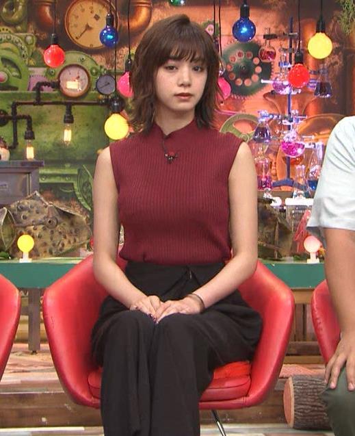 池田エライザ 巨乳×ニット。乳揺れGIF動画キャプ・エロ画像4