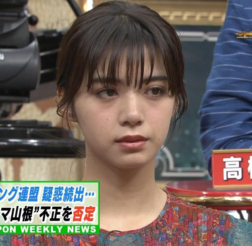 池田エライザ サンジャポでのすごい横乳キャプ・エロ画像5