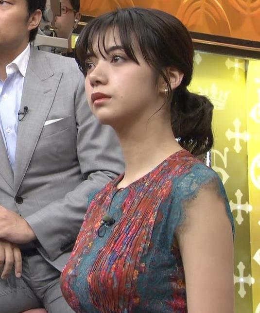 池田エライザ サンジャポでのすごい横乳キャプ・エロ画像6