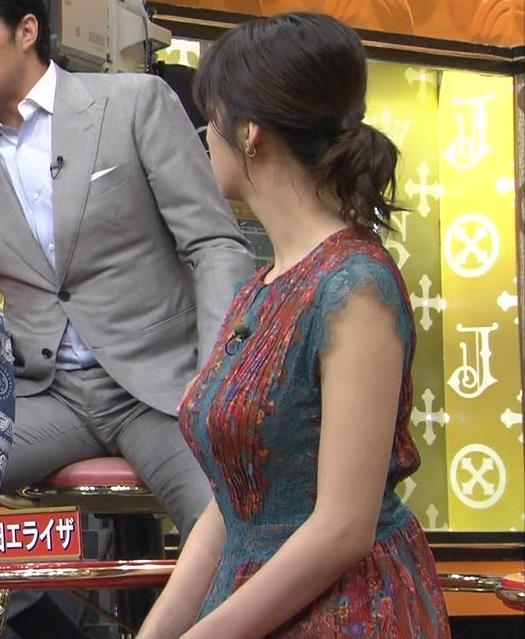池田エライザ サンジャポでのすごい横乳キャプ・エロ画像9