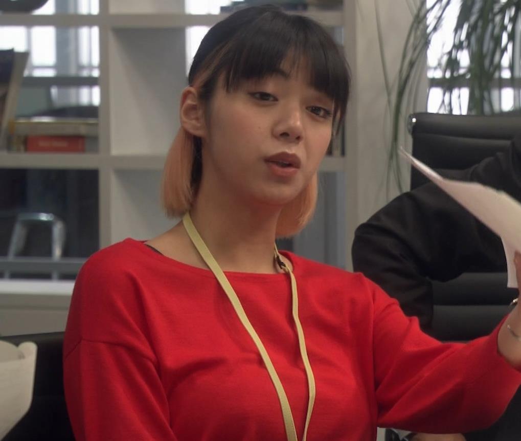 池田エライザ ゆったりした服でもエロいおっぱいキャプ・エロ画像2