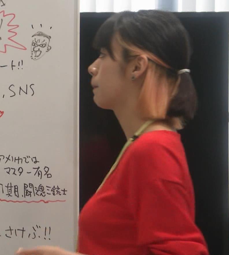 池田エライザ ゆったりした服でもエロいおっぱいキャプ・エロ画像4