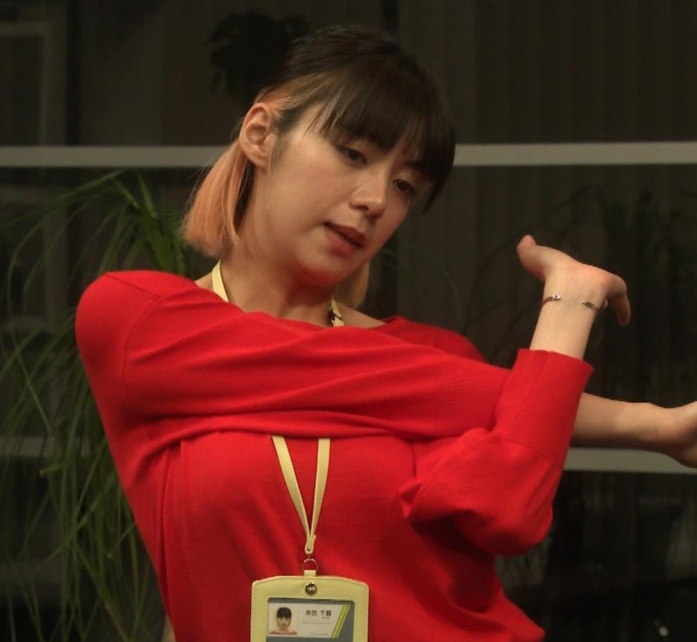 池田エライザ ゆったりした服でもエロいおっぱいキャプ・エロ画像7