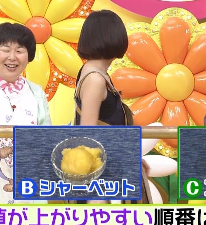 池田エライザ お昼の番組でもエロい衣装で胸の谷間チラリしてるキャプ・エロ画像5