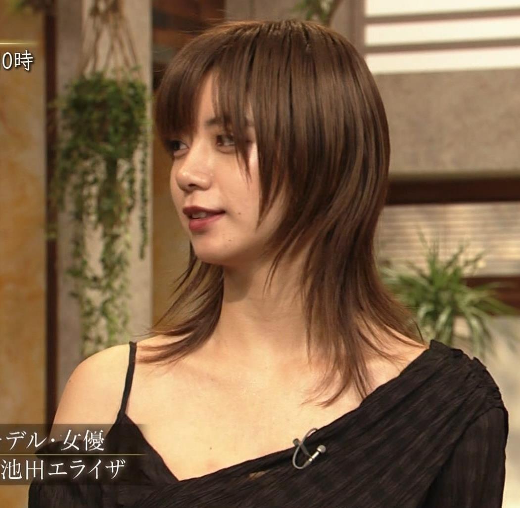 池田エライザ NHKでもエロい衣装。しぐさもエロいキャプ・エロ画像2