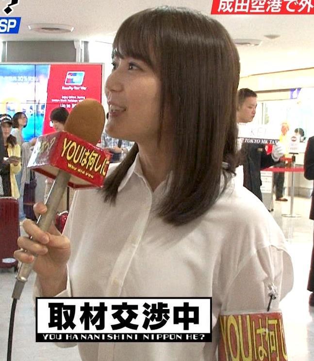 生田絵梨花 横乳とかスカートでタクシーから降りるとことかキャプ・エロ画像2