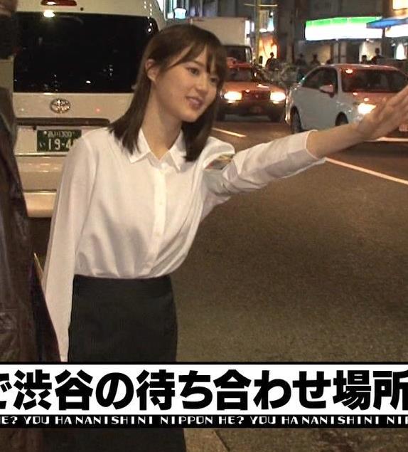 生田絵梨花 横乳とかスカートでタクシーから降りるとことかキャプ・エロ画像4