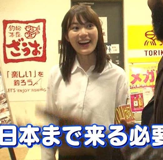 生田絵梨花 横乳とかスカートでタクシーから降りるとことかキャプ・エロ画像8