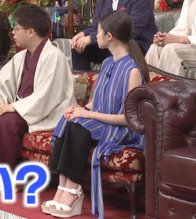 今田美桜 ノースリーブ姿キャプ・エロ画像