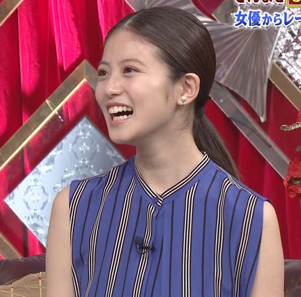 今田美桜 ノースリーブ姿キャプ・エロ画像5