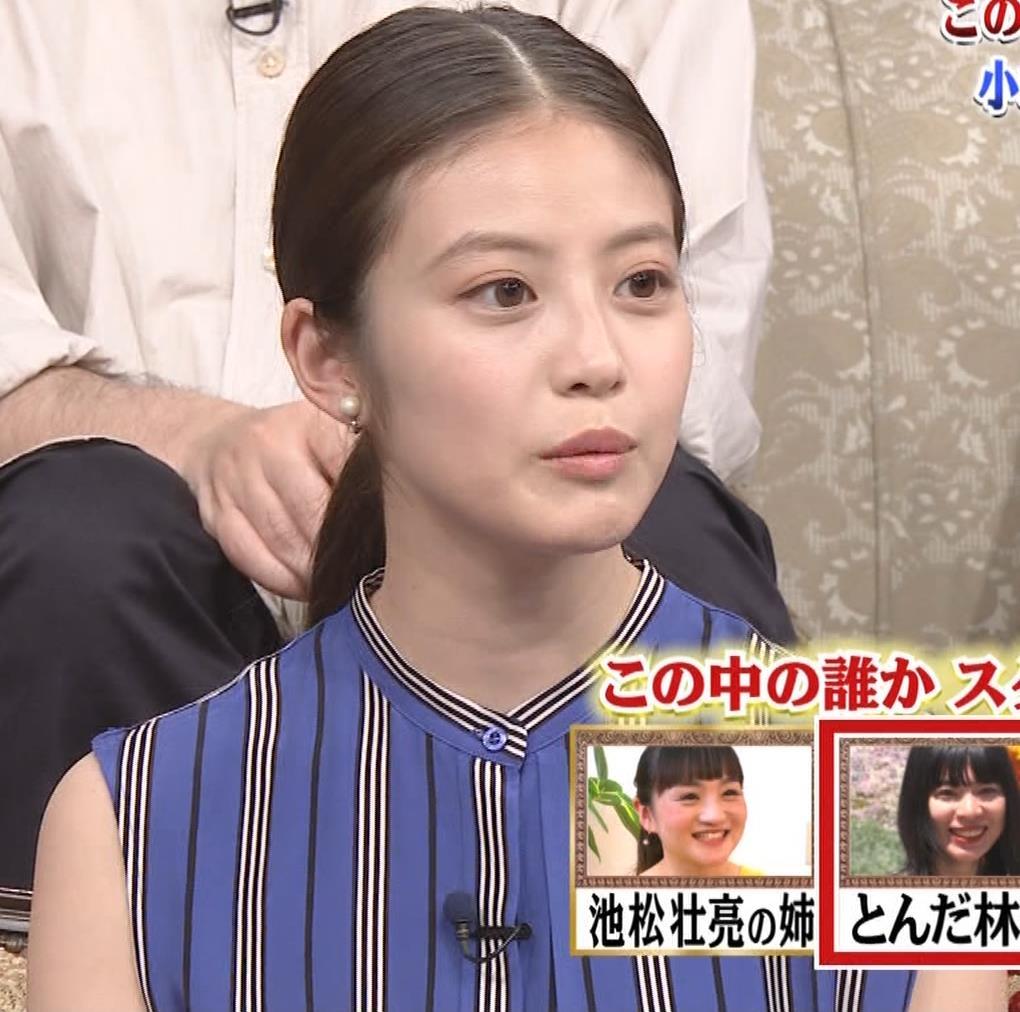 今田美桜 ノースリーブ姿キャプ・エロ画像6