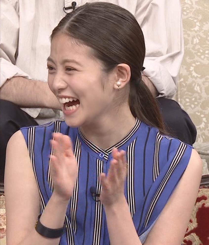 今田美桜 ノースリーブ姿キャプ・エロ画像7
