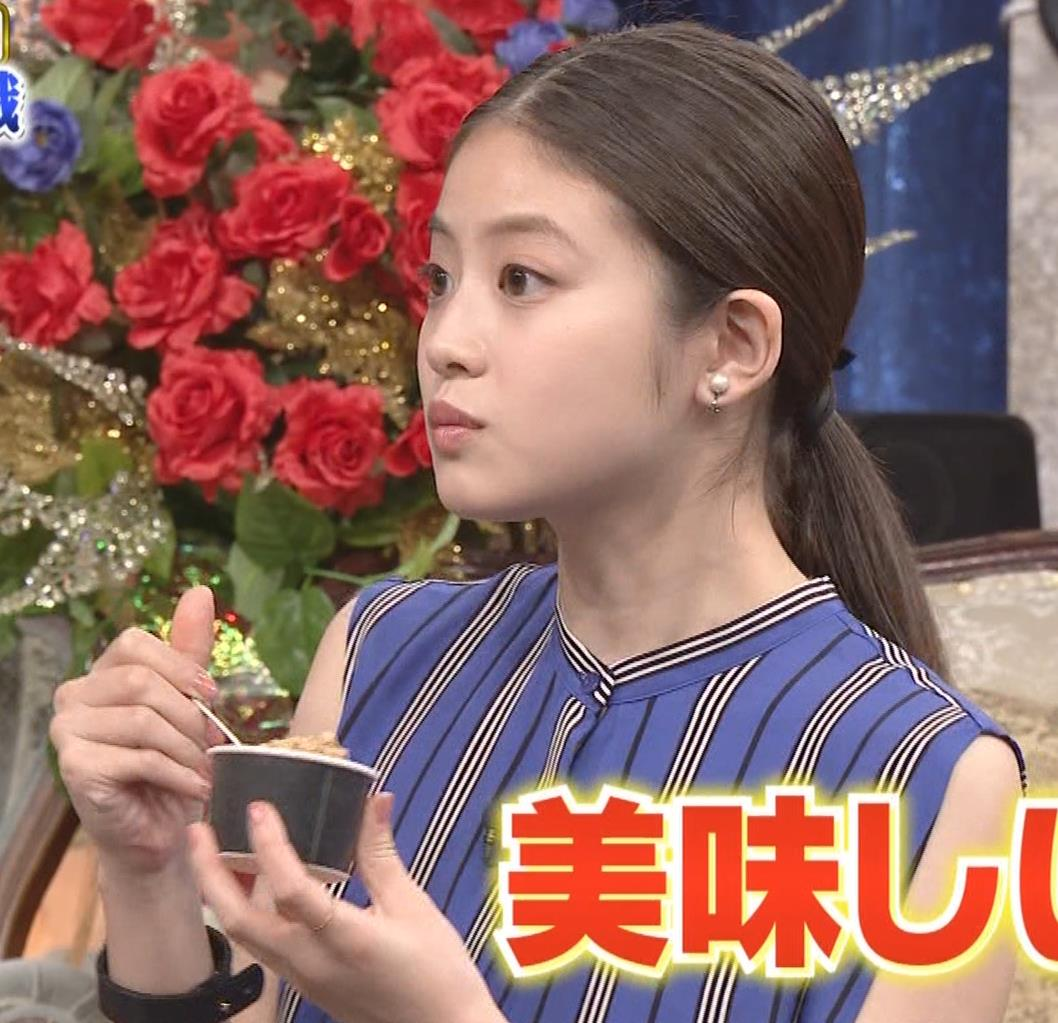 今田美桜 ノースリーブ姿キャプ・エロ画像10