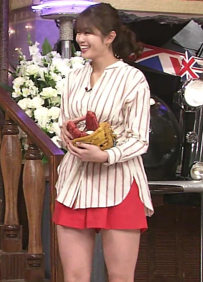 稲村亜美 太ももが太くなりすぎてるような…キャプ・エロ画像