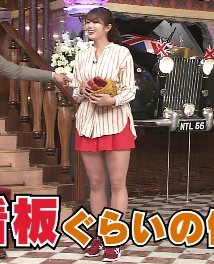 稲村亜美 太ももが太くなりすぎてるような…キャプ・エロ画像2