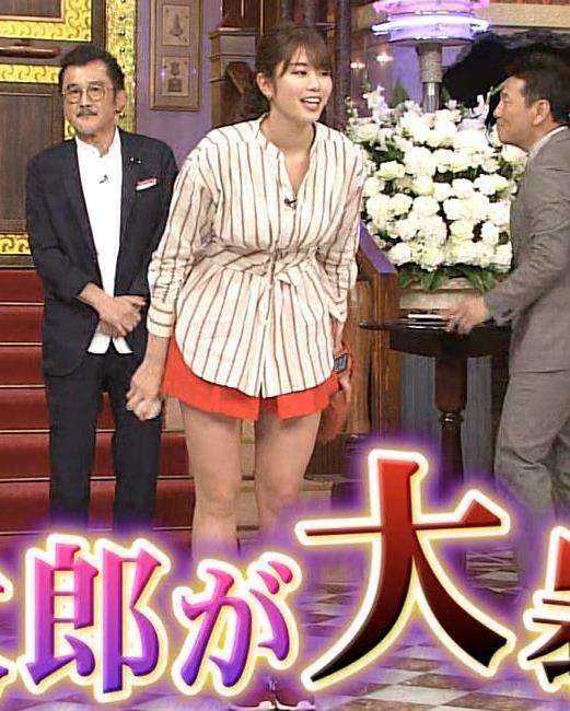 稲村亜美 太ももが太くなりすぎてるような…キャプ・エロ画像3