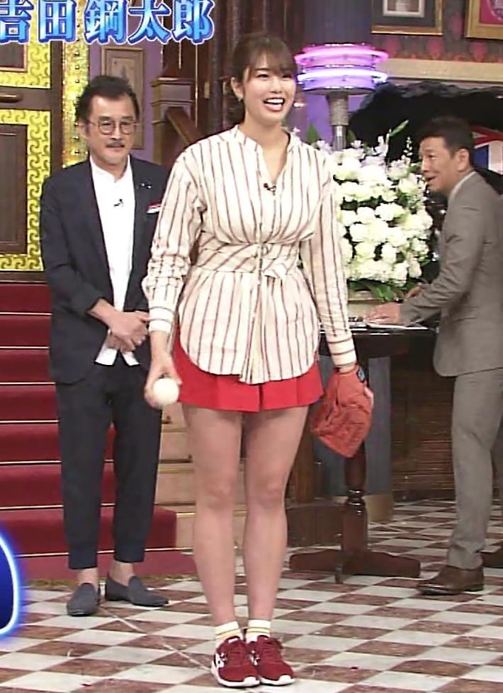 稲村亜美 太ももが太くなりすぎてるような…キャプ・エロ画像4