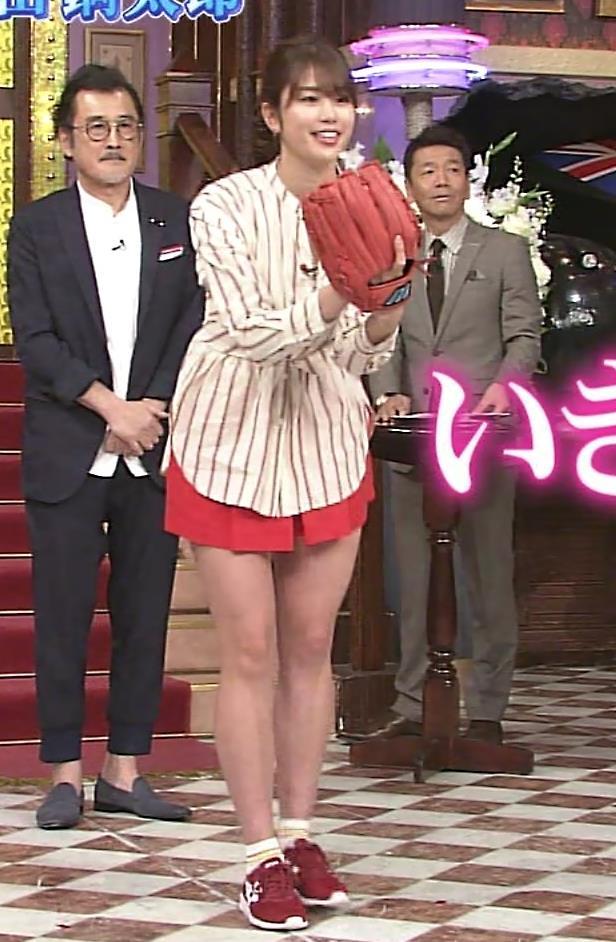 稲村亜美 太ももが太くなりすぎてるような…キャプ・エロ画像5