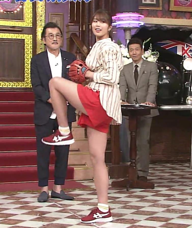 稲村亜美 太ももが太くなりすぎてるような…キャプ・エロ画像6