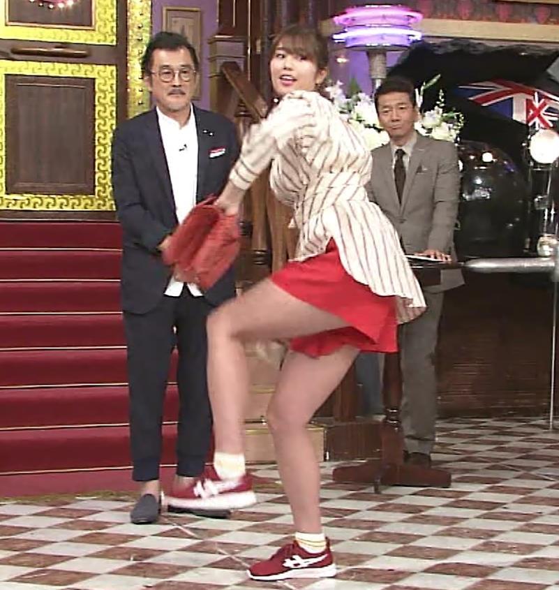稲村亜美 太ももが太くなりすぎてるような…キャプ・エロ画像7