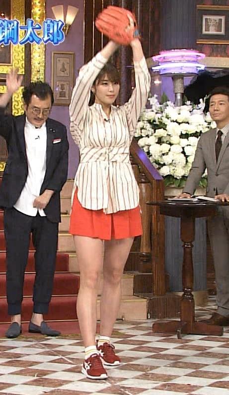 稲村亜美 太ももが太くなりすぎてるような…キャプ・エロ画像8