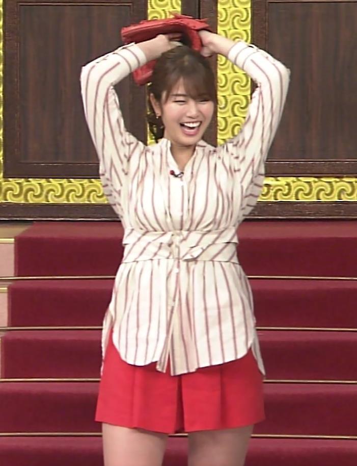 稲村亜美 太ももが太くなりすぎてるような…キャプ・エロ画像9