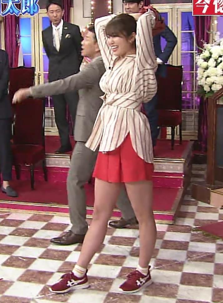 稲村亜美 太ももが太くなりすぎてるような…キャプ・エロ画像10