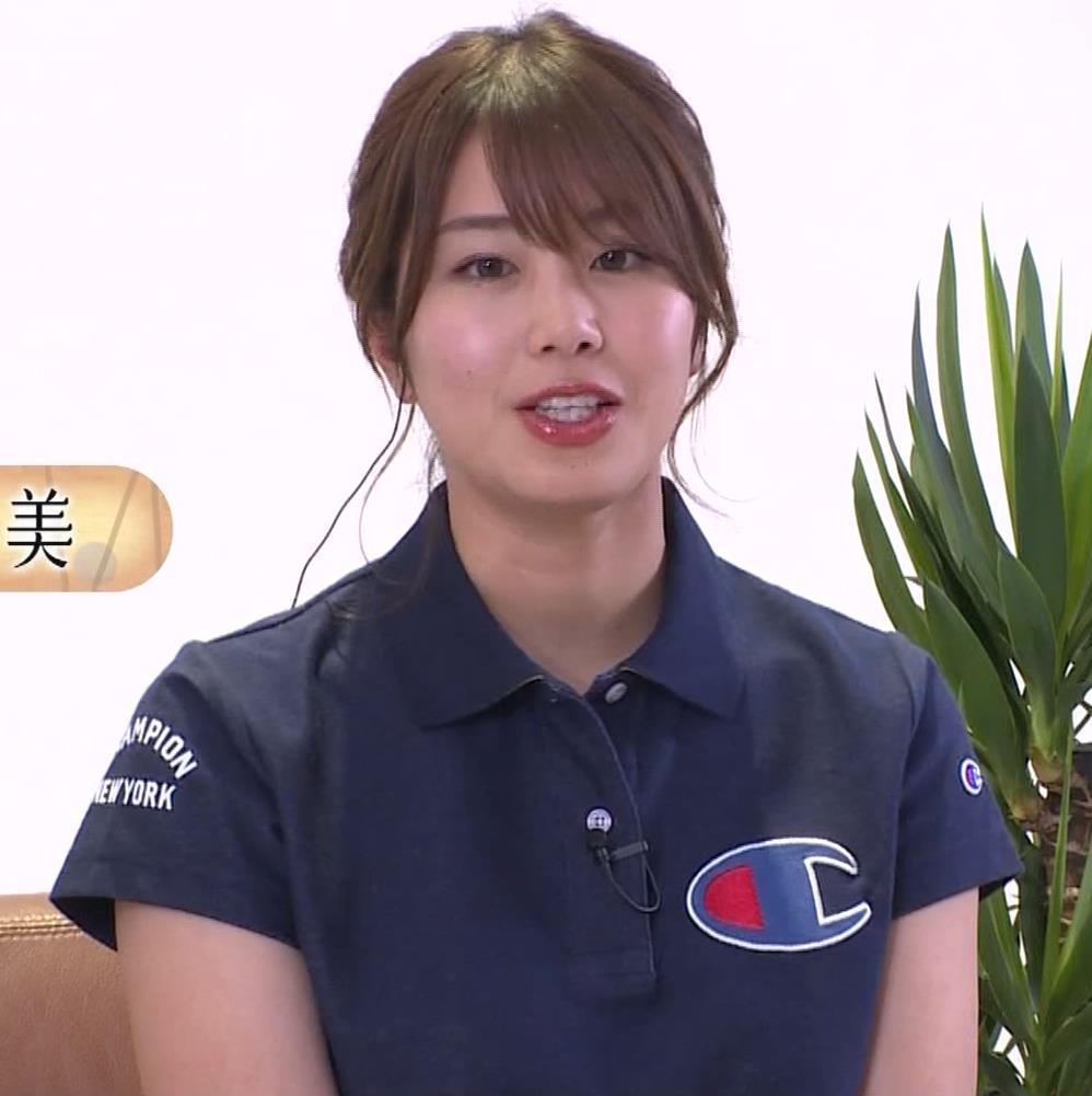 稲村亜美 パンツ見えそうなムチムチ太もも▼ゾーンキャプ・エロ画像