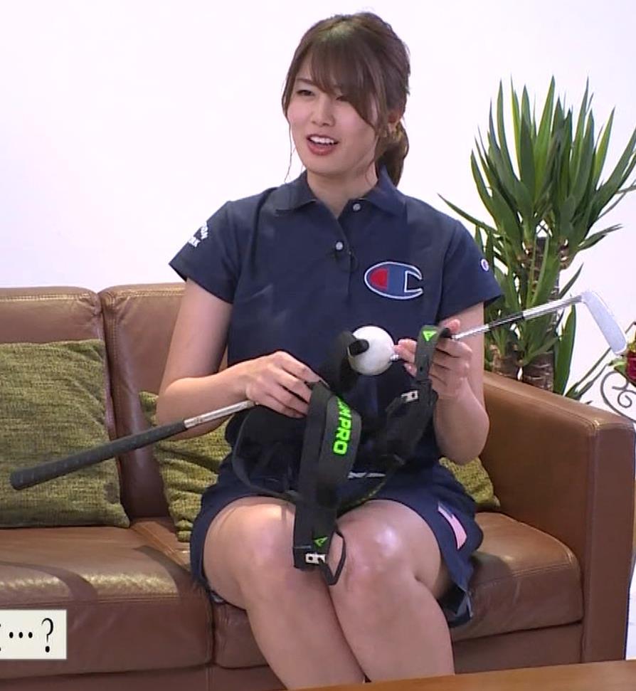 稲村亜美 パンツ見えそうなムチムチ太もも▼ゾーンキャプ・エロ画像11