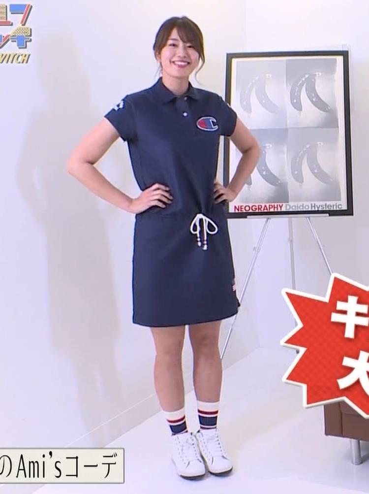 稲村亜美 パンツ見えそうなムチムチ太もも▼ゾーンキャプ・エロ画像6