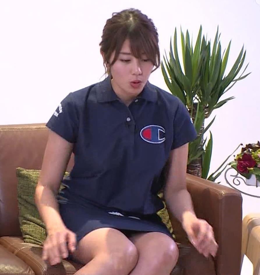 稲村亜美 パンツ見えそうなムチムチ太もも▼ゾーンキャプ・エロ画像9
