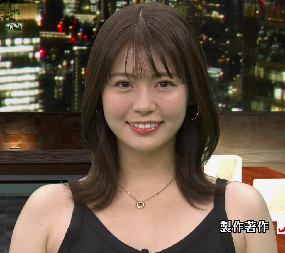井口綾子 エロ・タンクトップキャプ・エロ画像8