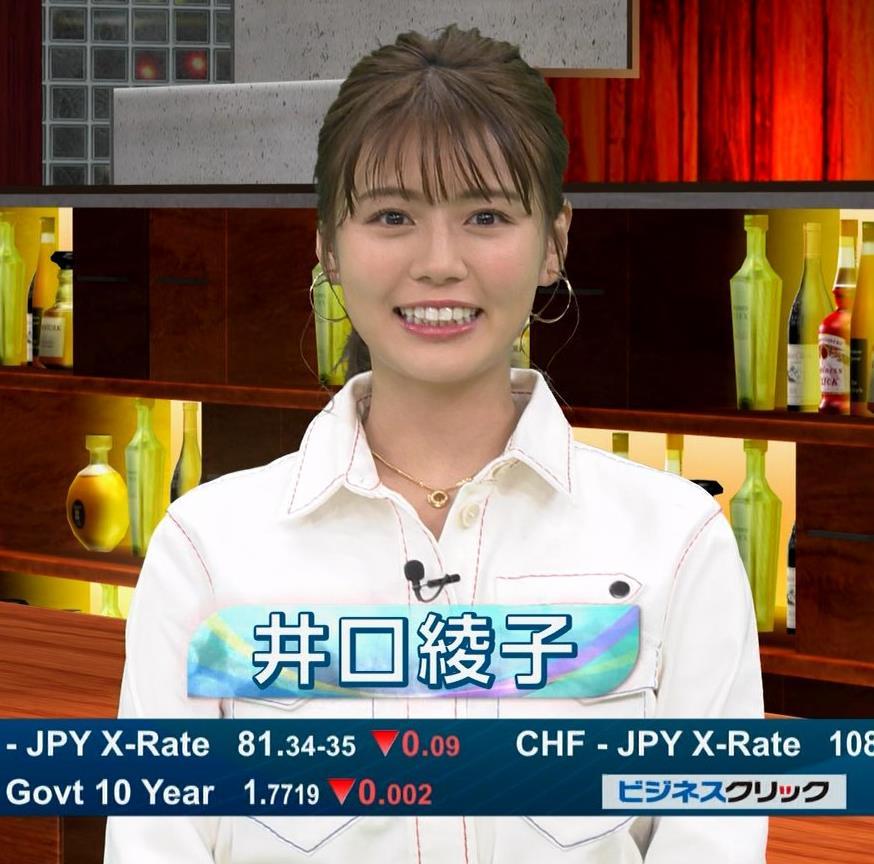 井口綾子 かわいい笑顔キャプ・エロ画像3