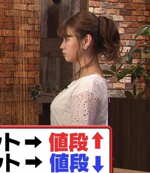 井口綾子 グラビアで話題の巨乳ちゃんがTVに出てたよ。[横乳]キャプ画像(エロ・アイコラ画像)