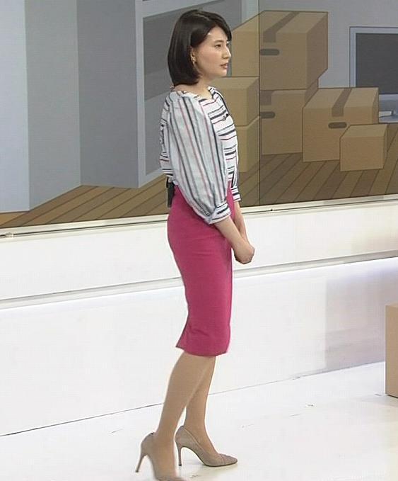 井上あさひアナ タイトスカートお尻。スタイルがいいキャプ・エロ画像5