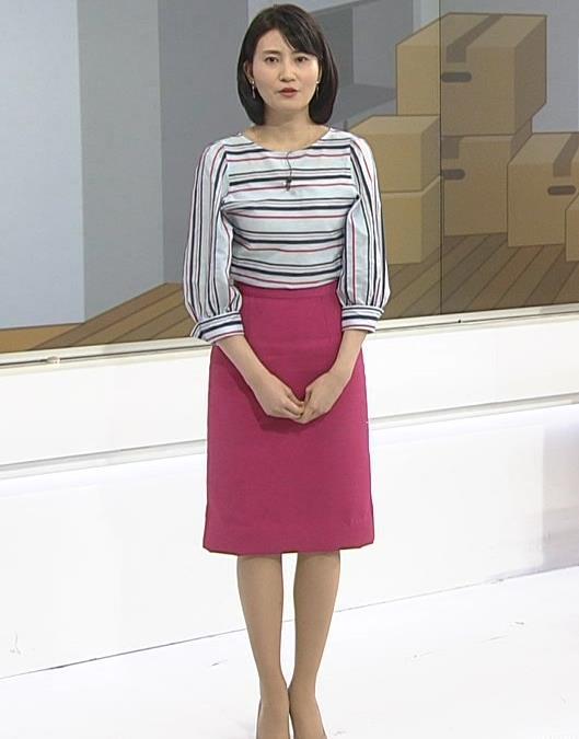 井上あさひアナ タイトスカートお尻。スタイルがいいキャプ・エロ画像7