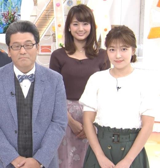 井上清華アナ ニットおっぱいキャプ・エロ画像